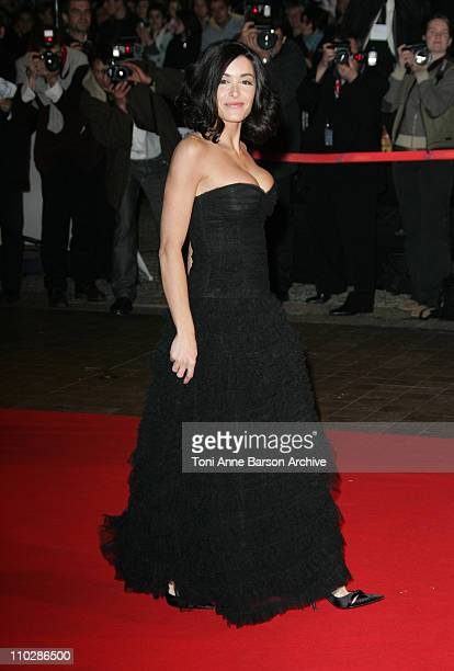 Jenifer Bartoli during 2006 NRJ Music Awards Arrivals at Palais des Festivals in Cannes France