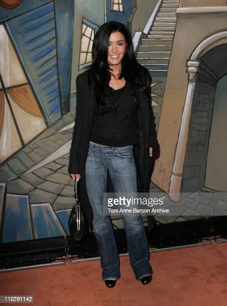 Jenifer Bartoli during 'La Mome' Paris Premiere Arrivals at UGC Normandy in Paris France