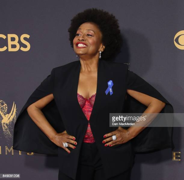 Jenifer Lewis arrives at the 69th Annual Primetime Emmy Awards at Microsoft Theater on September 17 2017 in Los Angeles California