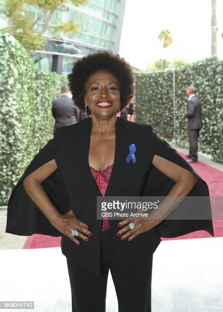 Jenifer Lewis arrives on the red carpet at the 69TH PRIMETIME EMMY AWARDS LIVE from the Microsoft Theater in Los Angeles Sunday Sept 17 on the CBS...