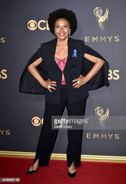 Jenifer Lewis attends the 69th Annual Primetime Emmy Awards at Microsoft Theater on September 17 2017 in Los Angeles California