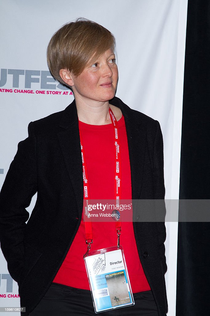 Jenifer Malmvqst attends Outfest Queer Brunch - 2013 Park City on January 20, 2013 in Park City, Utah.