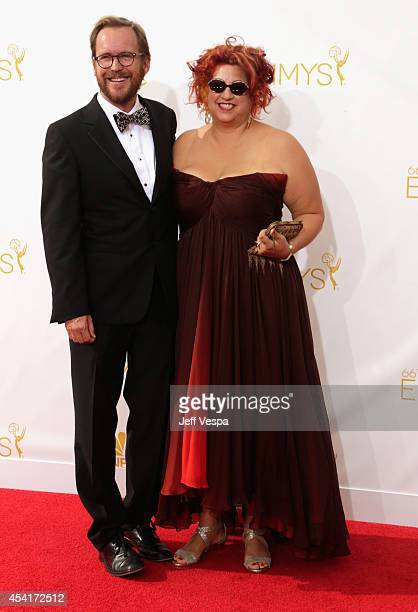 Jenji Kohan attends the 66th Annual Primetime Emmy Awards held at Nokia Theatre LA Live on August 25 2014 in Los Angeles California