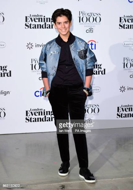 Jenk Oz at the London Evening Standard's annual Progress 1000 in partnership with Citi and sponsored by Invisalign UK held in London
