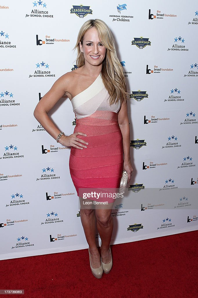 Jenn Brown attended The Champions For Choice In Education ESPYs Kickoff Cocktail Party at Ritz Carlton on July 16, 2013 in Los Angeles, California.