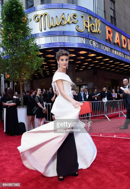 Jenn Colella attends the 2017 Tony Awards at Radio City Music Hall on June 11 2017 in New York City