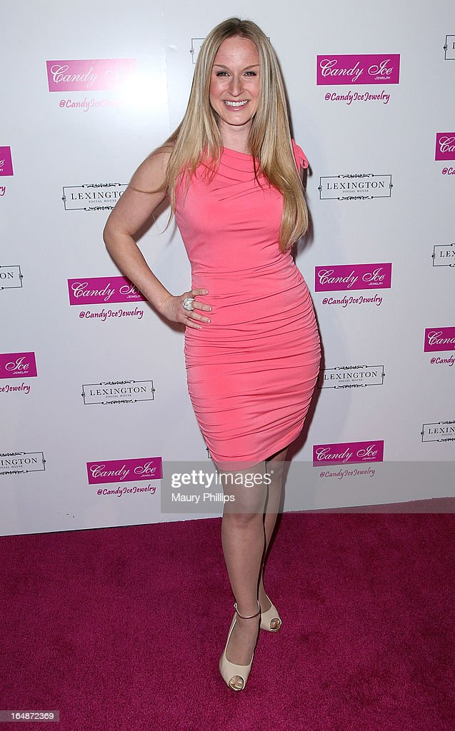 Jenn Gotzon attends Fire & Ice Gala Benefiting Fresh2o at Lexington Social House on March 28, 2013 in Hollywood, California.