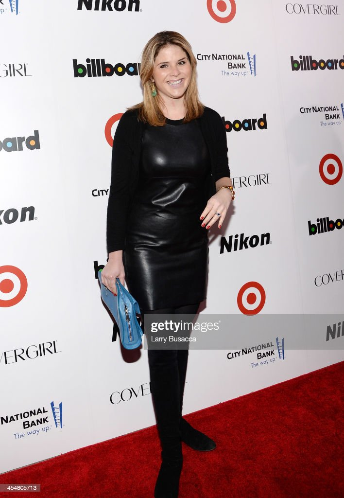 <a gi-track='captionPersonalityLinkClicked' href=/galleries/search?phrase=Jenna+Bush+Hager&family=editorial&specificpeople=175840 ng-click='$event.stopPropagation()'>Jenna Bush Hager</a> attends Billboard's annual Women in Music event at Capitale on December 10, 2013 in New York City.