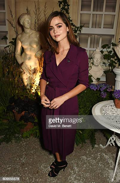 Jenna Coleman attends Burberry and Bafta In Conversation at Makers House on September 21 2016 in London England