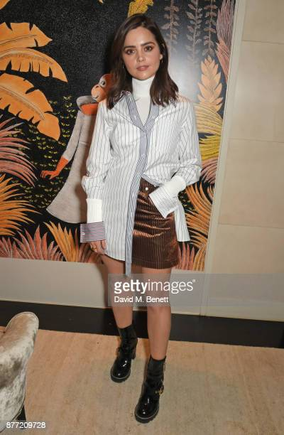 Jenna Coleman attends Louis Vuittons Celebration of GingerNutz in Vogue's December Issue on November 21 2017 in London England