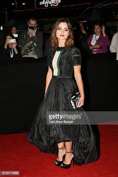 Jenna Coleman attends MIPCOM Opening Party at Martinez Hotel on October 17 2016 in Cannes France