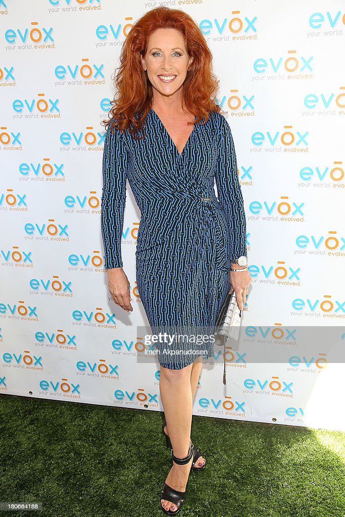 Jenna DeAngeles attends the green carpet launch for the Evox TV debut of Ed Begley's new family show, 'On Begley Street' on September 15, 2013 in Pasadena, California.