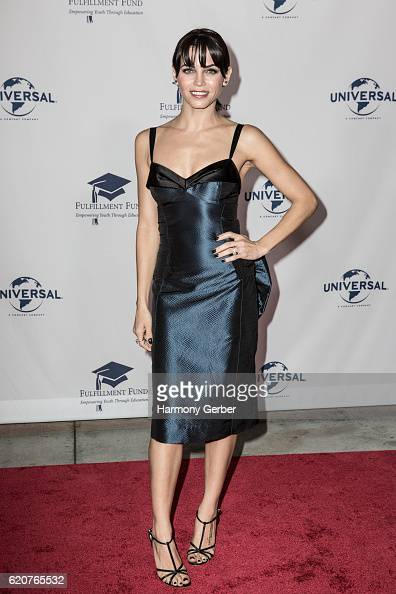 Jenna Dewan arrives at the 22nd Fulfillment Fund Stars Benefit Gala at The Globe Theatre at Universal Studios on November 2 2016 in Universal City...