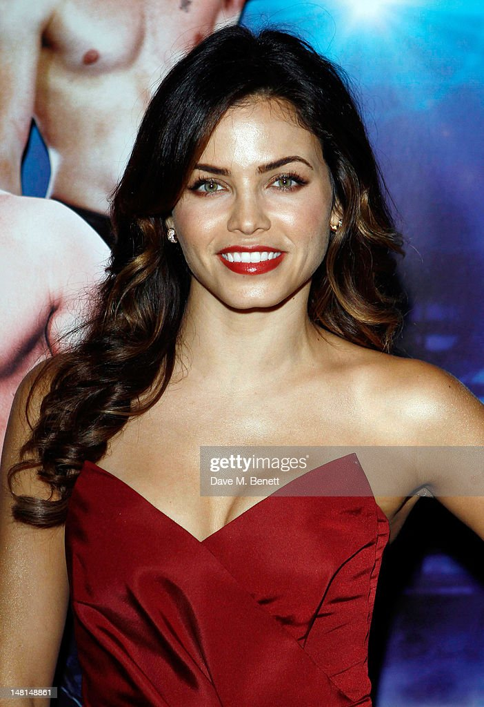 Jenna Dewan attends the European premiere of 'Magic Mike' at The May Fair Hotel on July 10, 2012 in London, England.