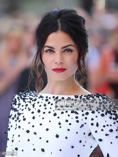 Jenna Dewan attends the European Premiere of 'Magic Mike XXL' at Vue West End on June 30 2015 in London England