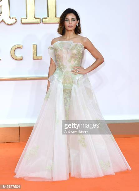 Jenna Dewan attends the 'Kingsman The Golden Circle' World Premiere held at Odeon Leicester Square on September 18 2017 in London England