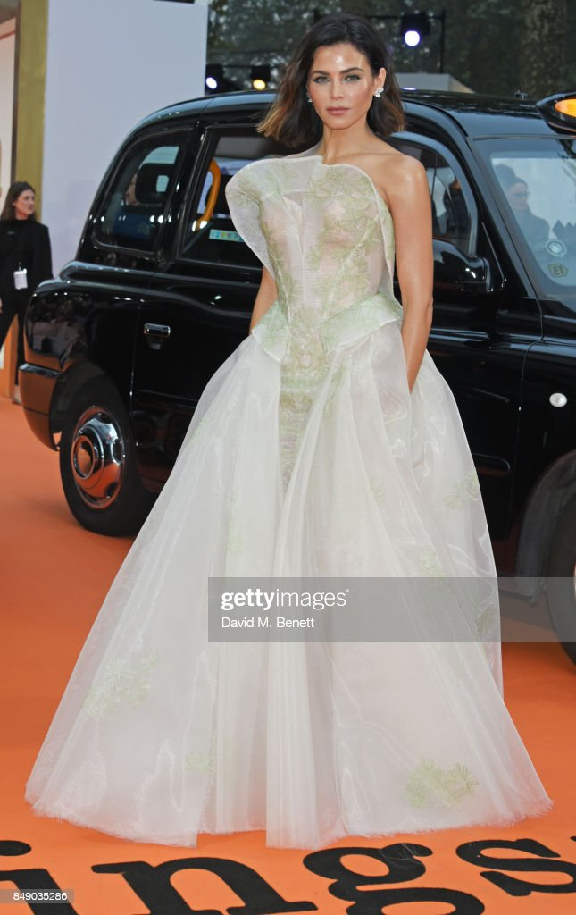 Jenna Dewan attends the World Premiere of 'Kingsman: The Golden Circle' at Odeon Leicester Square on September 18, 2017 in London, England.
