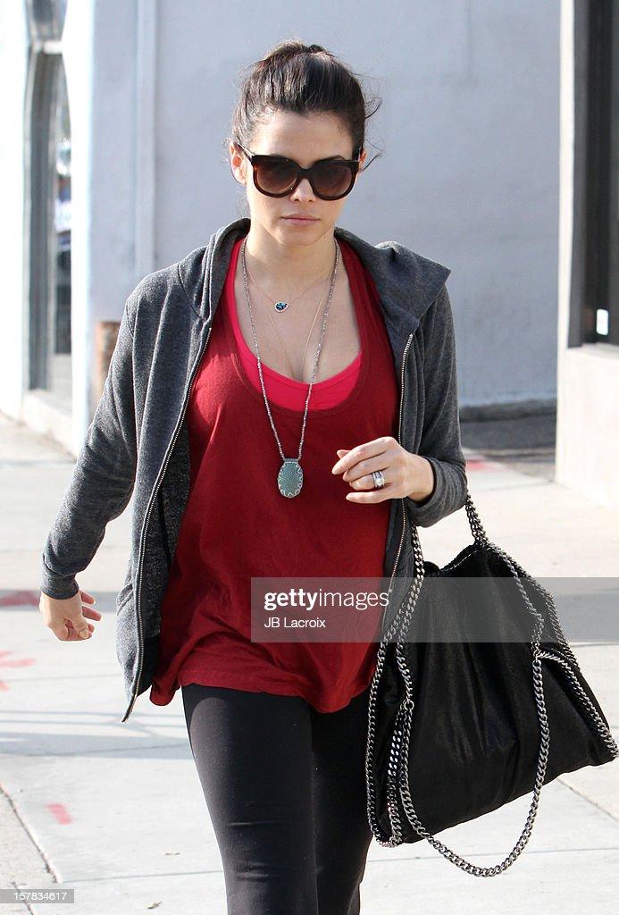 Jenna Dewan is seen on December 6, 2012 in Los Angeles, California.