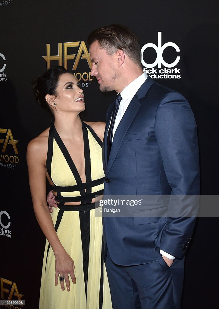 Jenna Dewan Tatum and Channing Tatum attend the 19th Annual Hollywood Film Awards at The Beverly Hilton Hotel on November 1, 2015 in Beverly Hills, California.