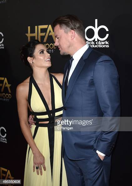 Jenna Dewan Tatum and Channing Tatum attend the 19th Annual Hollywood Film Awards at The Beverly Hilton Hotel on November 1 2015 in Beverly Hills...