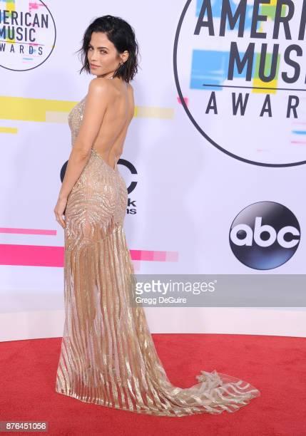 Jenna Dewan Tatum arrives at the 2017 American Music Awards at Microsoft Theater on November 19 2017 in Los Angeles California