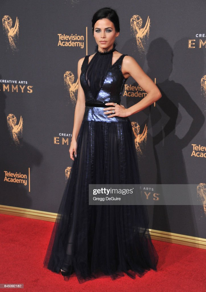 Jenna Dewan Tatum arrives at the 2017 Creative Arts Emmy Awards - Day 1 at Microsoft Theater on September 9, 2017 in Los Angeles, California.