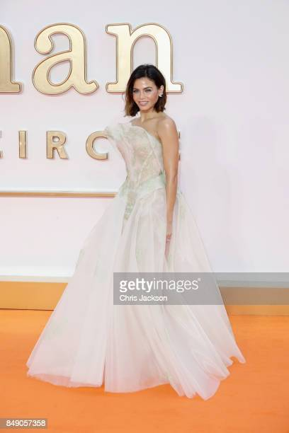 Jenna Dewan Tatum attend the 'Kingsman The Golden Circle' World Premiere held at Odeon Leicester Square on September 18 2017 in London England