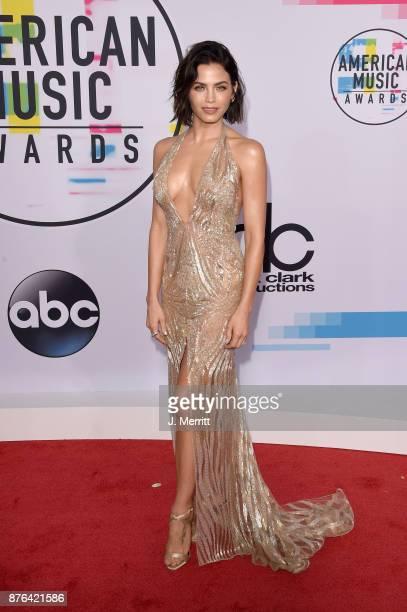 Jenna Dewan Tatum attends 2017 American Music Awards at Microsoft Theater on November 19 2017 in Los Angeles California