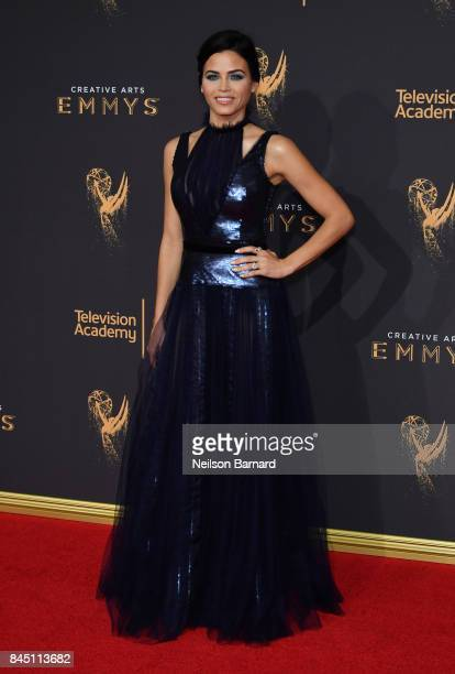 Jenna Dewan Tatum attends day 1 of the 2017 Creative Arts Emmy Awards at Microsoft Theater on September 9 2017 in Los Angeles California