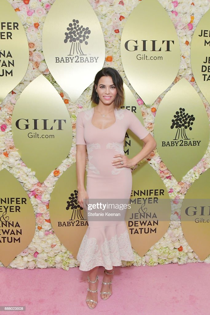 Jenna Dewan Tatum attends Gilt.com, Jennifer Meyer & Jenna Dewan Tatum Launch Exclusive Jewelry Collection Benefitting Baby2Baby at Sunset Tower Hotel on December 7, 2017 in West Hollywood, California.