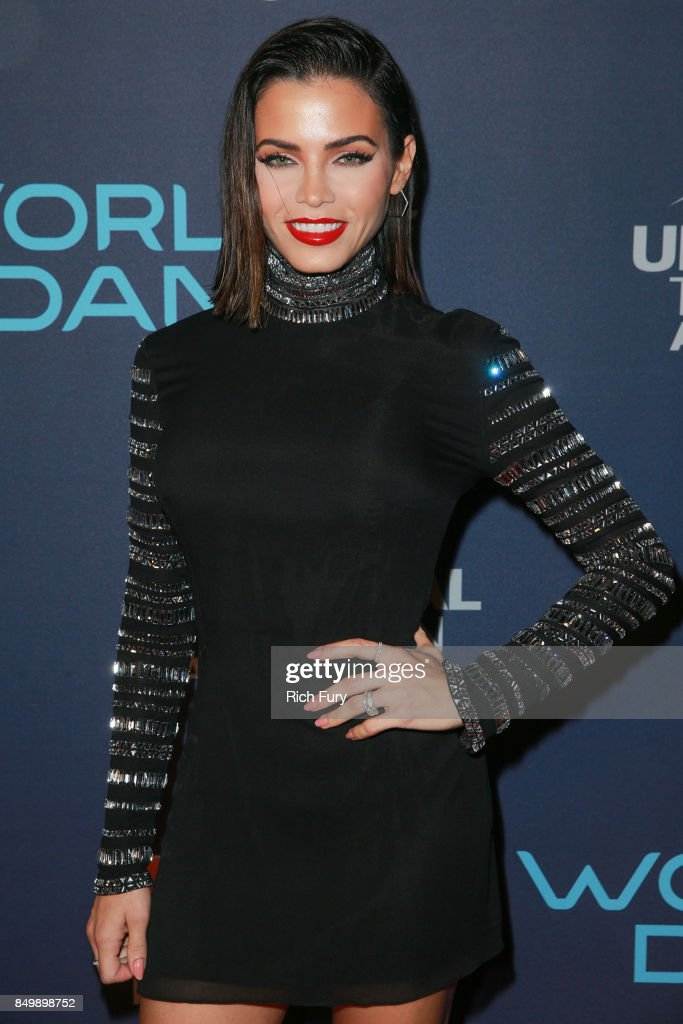 Jenna Dewan Tatum attends NBC's 'World Of Dance' Celebration at Delilah on September 19, 2017 in West Hollywood, California.