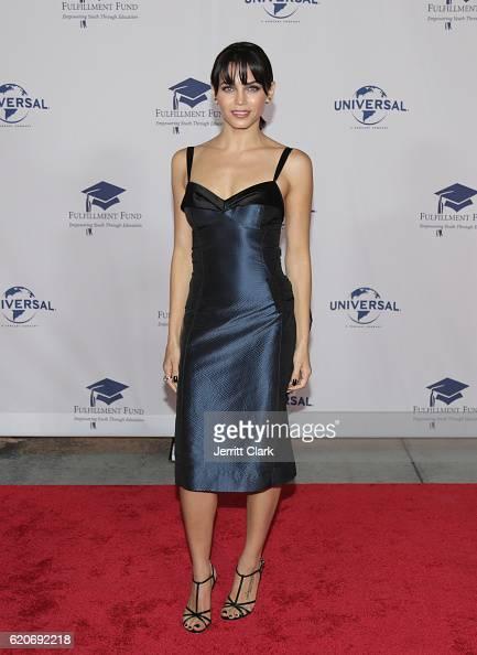 Jenna Dewan Tatum attends the 22nd Fulfillment Fund Stars Benefit Gala Arrivals at The Globe Theatre at Universal Studios on November 2 2016 in...