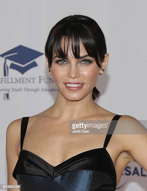 Jenna Dewan Tatum attends the 22nd Fulfillment Fund Stars Benefit Gala Arrivals at The Globe Theatre at Universal Studios on November 2 2016 in...