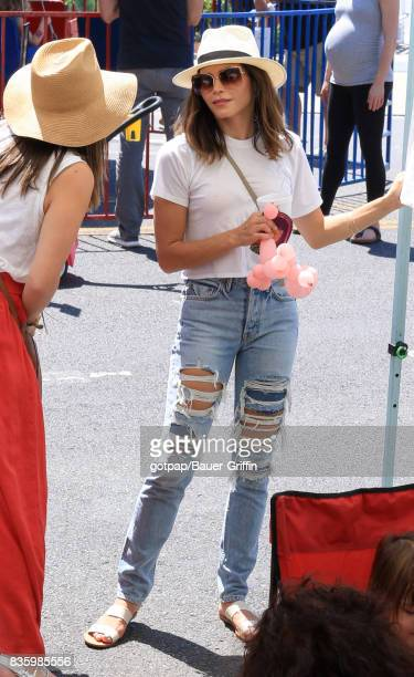 Jenna Dewan Tatum is seen on August 20 2017 in Los Angeles California