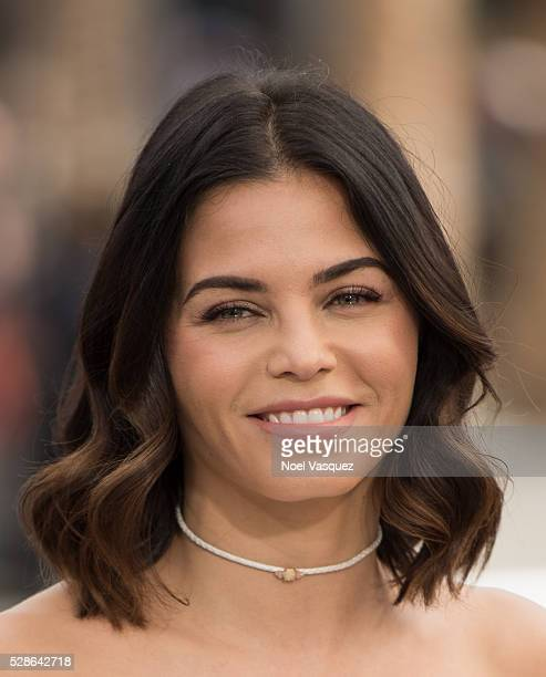 Jenna Dewan Tatum visits 'Extra' at Universal Studios Hollywood on May 6 2016 in Universal City California