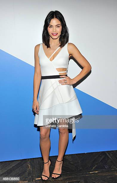 Jenna DewanTatum attends FORWARD by Elyse Walker David Koma dinner on April 2 2015 in West Hollywood California