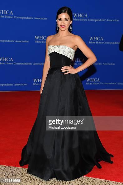 Jenna DewanTatum attends the 101st Annual White House Correspondents' Association Dinner at the Washington Hilton on April 25 2015 in Washington DC