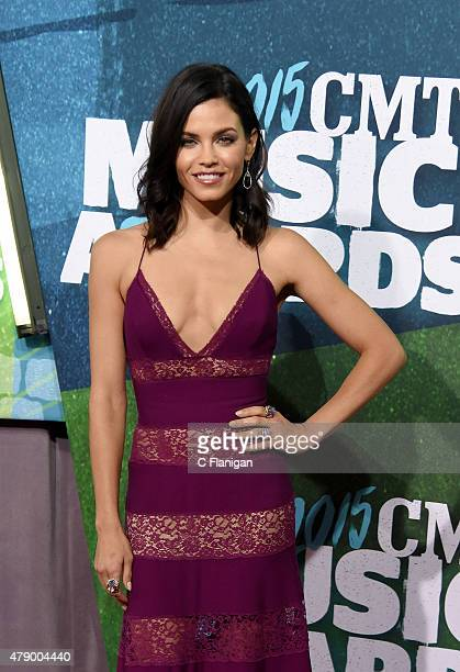 Jenna DewanTatum attends the 2015 CMT Music awards at the Bridgestone Arena on June 10 2015 in Nashville Tennessee
