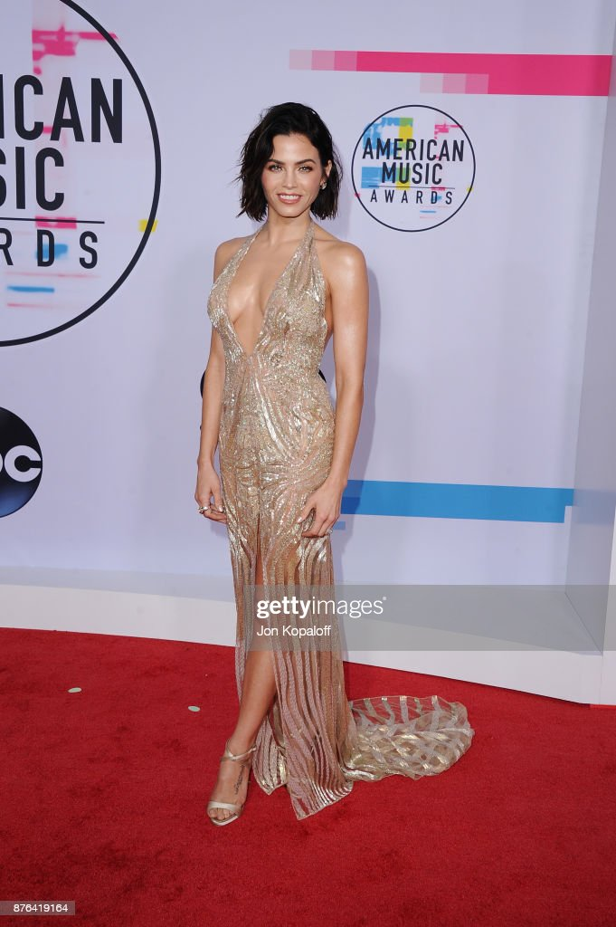 Jenna Dewan-Tatum attends the 2017 American Music Awards at Microsoft Theater on November 19, 2017 in Los Angeles, California.