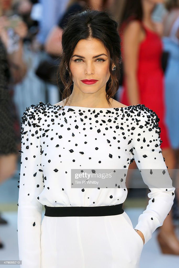 Jenna DewanTatum attends the European Premiere of 'Magic Mike XXL' at Vue West End on June 30 2015 in London England