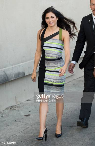 Jenna DewanTatum is seen in Hollywood on June 23 2014 in Los Angeles California