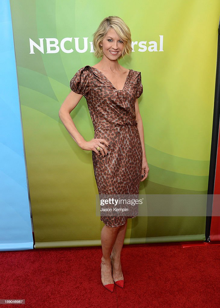 Jenna Elfman attends NBCUniversal's '2013 Winter TCA Tour' Day 1 at Langham Hotel on January 6, 2013 in Pasadena, California.