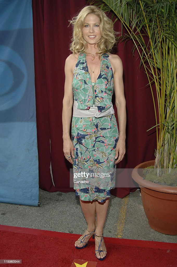 Jenna Elfman during 2005/2006 CBS Prime Time UpFront at Tavern on the Green Central Park in New York City New York United States