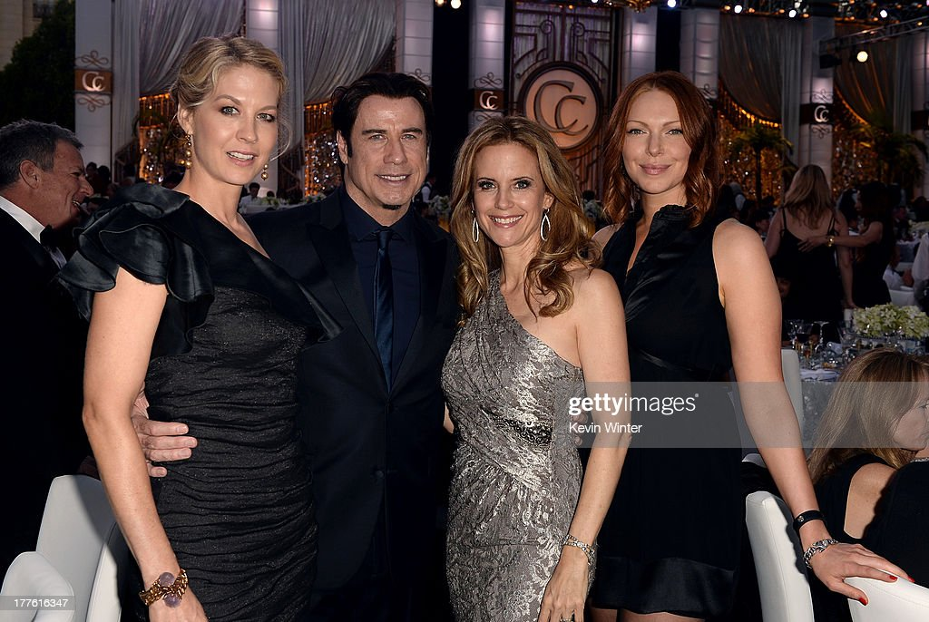 <a gi-track='captionPersonalityLinkClicked' href=/galleries/search?phrase=Jenna+Elfman&family=editorial&specificpeople=204782 ng-click='$event.stopPropagation()'>Jenna Elfman</a>, <a gi-track='captionPersonalityLinkClicked' href=/galleries/search?phrase=John+Travolta&family=editorial&specificpeople=178204 ng-click='$event.stopPropagation()'>John Travolta</a>, <a gi-track='captionPersonalityLinkClicked' href=/galleries/search?phrase=Kelly+Preston&family=editorial&specificpeople=159434 ng-click='$event.stopPropagation()'>Kelly Preston</a> and <a gi-track='captionPersonalityLinkClicked' href=/galleries/search?phrase=Laura+Prepon&family=editorial&specificpeople=211299 ng-click='$event.stopPropagation()'>Laura Prepon</a> attend the Church of Scientology Celebrity Centre 44th Anniversary Gala on August 24, 2013 in Los Angeles, California.