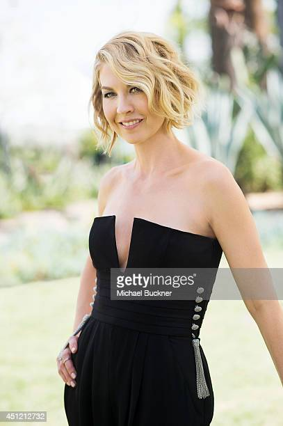 Jenna Elfman poses for a portrait at the NBC Universal's Summer Press Day on April 8 2014 in Pasadena California