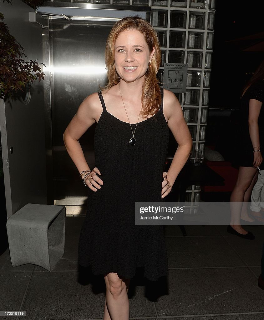 Jenna Fischer attends The Cinema Society & Brooks Brothers Host A Screening Of Lionsgate And Roadside Attractions' 'Girl Most Likely' After Party at Hotel Americano on July 15, 2013 in New York City.