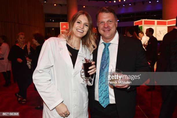 Jenna Hall and Stephen Van Deventer attend the NYSCF Gala Science Fair at Jazz at Lincoln Center on October 16 2017 in New York City