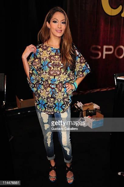 Jenna Haze attends EXXXOTICA Miami Beach at the Miami Beach Convention Center on May 20 2011 in Miami Beach Florida