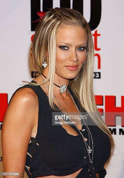 Jenna Jameson during FHM Magazine Hosts The '100 Sexiest Women in the World' Party at Raleigh Studios in Hollywood California United States