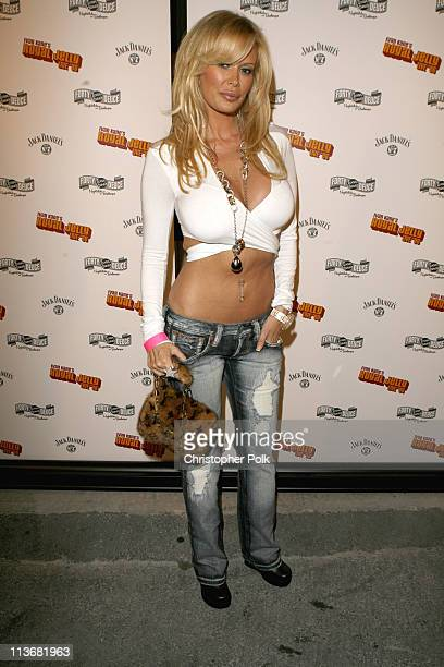 Jenna Jameson during Ivan Kane's Royal Jelly Live '06 Arrivals at Forty Deuce in Hollywood California United States